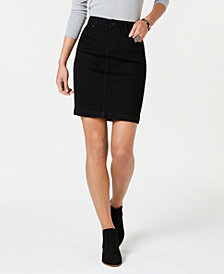 Style & Co Petite Denim Skirt, Created for Macy's