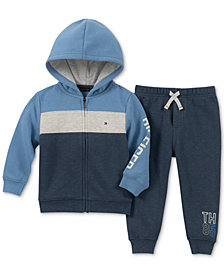 Tommy Hilfiger Baby Boys 2-Pc. Hoodie & Jogger Pants Set
