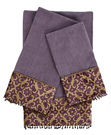 Sherry Kline Elaine Decorative Embellished Towel Set