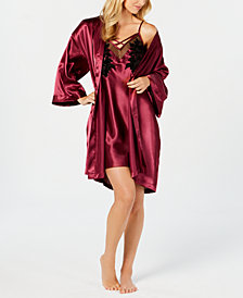 Thalia Sodi Woven Wrap Robe, Created for Macy's