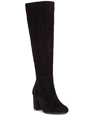I.N.C. Women's Radella Wide Calf Dress Boots, Created For Macy's by Inc International Concepts