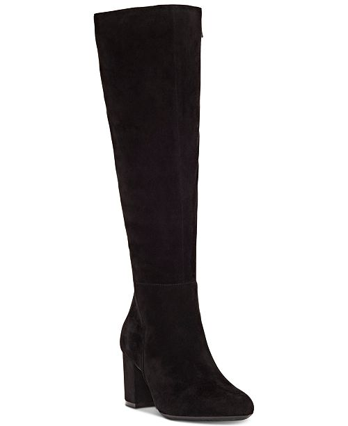 INC International Concepts INC Women's Radella Wide-Calf Dress Boots, Created for Macy's