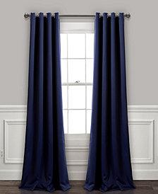 """Lush Décor 84""""x52"""" Insulated Grommet Blackout Curtain Panels Set"""