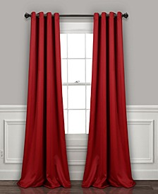 "52"" x 95"" Blackout Curtain Set"