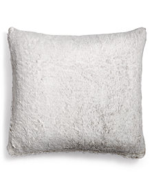 Hotel Collection Faux-Fur European Sham, Created for Macy's