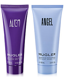 Choose your FREE gift with any $100 purchase from the Mugler fragrance collection