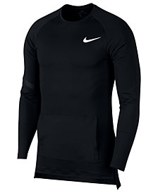 Nike Men's Pro Long-Sleeve T-Shirt