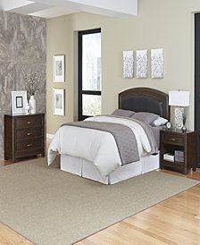 Bermuda Queen Poster Bed Espresso Finish
