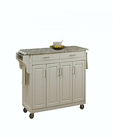 Create-A-Cart with Concrete Top