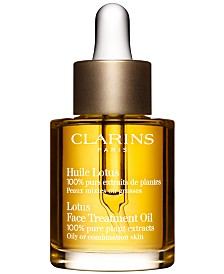 Clarins Lotus Face Treatment Oil, 1-oz.