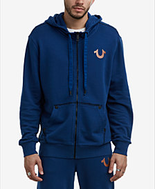 True Religion Men's Buddha Zip Hoodie