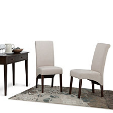 Set of 2 Easton Dining Chair, Quick Ship