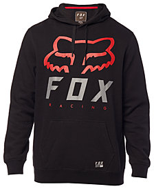 Fox Men's Heritage Forger Logo-Print Fleece Hoodie