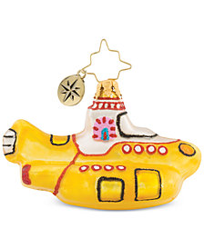 Christopher Radko Yellow Sub Club Ornament
