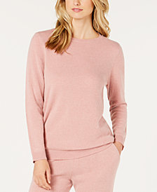 Charter Club Cashmere Pajama Top, Created for Macy's