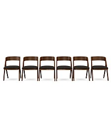 Oslo Dining Chair, 6-Pc. Set (Set of 6 Chairs), Created for Macy's