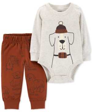 Carter's 2-Pc. Dog Graphic...