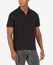 Kenneth Cole New York Zip Polo