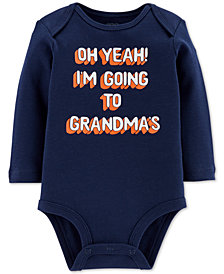 Carter's Baby Boys Going to Grandma's Cotton Bodysuit