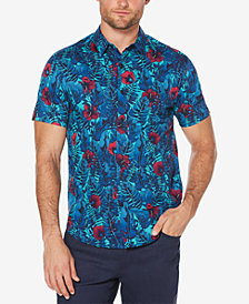 Cubavera Men's Slim-Fit Floral Shirt