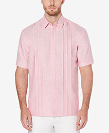 Cubavera Men's Pleated Shirt