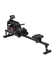 Sunny Health & Fitness Obsidian Surge 500 m Water Rowering Machine - SF-RW5713