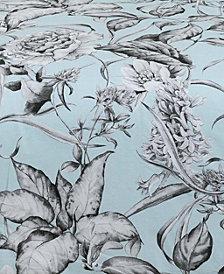 Sketch Floral Window Pair Panels