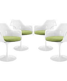 Lippa Dining Armchair Set of 4
