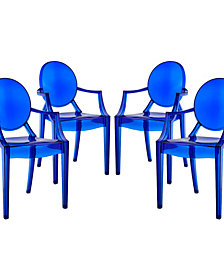 Casper Dining Armchairs Set of 4