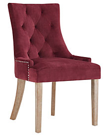 Modway Pose Velvet Dining Chair