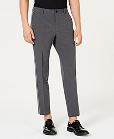 I.N.C. Men's Slim-Fit Cropped Side-Stripe Pants, Created for Macy's