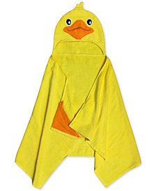 Jay Franco Kids' Duck Cotton Terry Hooded Towel
