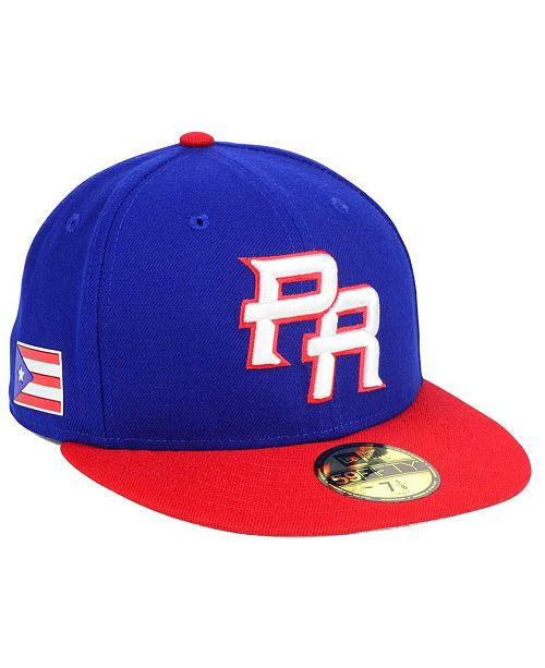 63d159b71dd ... New Era Puerto Rico World Baseball Classic 59FIFTY Fitted Cap ...