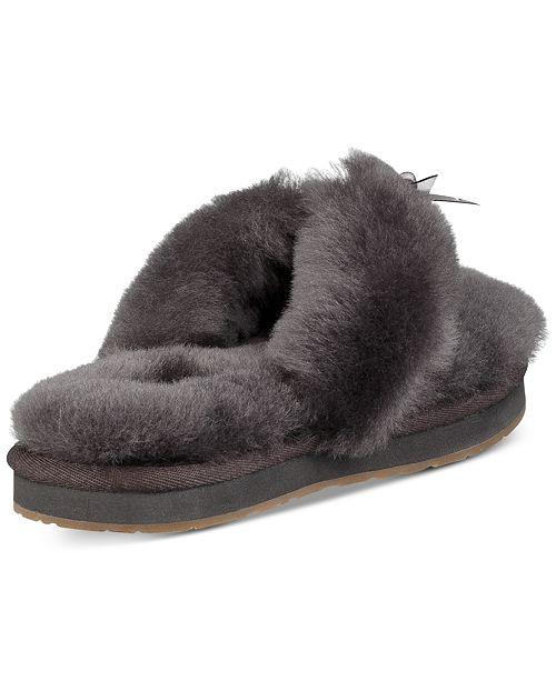 2ace65d1e91 UGG® Women s Fluff Flip-Flop III Slippers   Reviews - Slippers ...