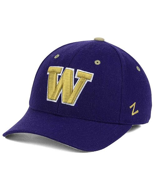 new style 9380f 1f06b ... Zephyr Washington Huskies DH Fitted Cap ...