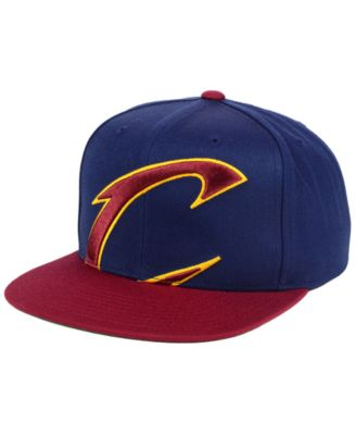 save off 0de04 8ed6b Mitchell   Ness Cleveland Cavaliers Cropped XL Logo Snapback Cap   Reviews  - Sports Fan Shop By Lids - Men - Macy s