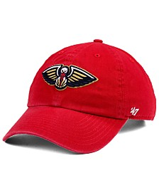 '47 Brand New Orleans Pelicans CLEAN UP Strapback Cap