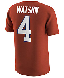 Nike Men's Deshaun Watson Clemson Tigers Name and Number T-Shirt