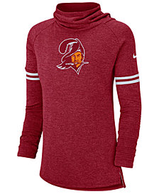 Nike Women's Tampa Bay Buccaneers Funnel Neck Long Sleeve T-Shirt