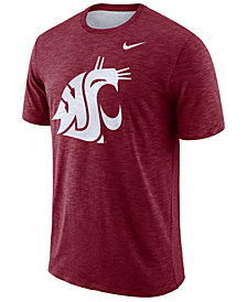 Nike Men's Washington State Cougars Dri-FIT Cotton Slub T-Shirt