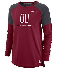 Nike Women's Oklahoma Sooners Tailgate Long Sleeve T-Shirt