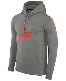 Nike Men's Cleveland Browns Property Of Therma Hoodie