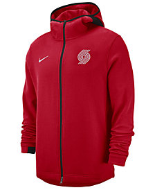 Nike Men's Portland Trail Blazers Dry Showtime Full-Zip Hoodie
