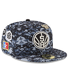 New Era San Antonio Spurs City On-Court 59FIFTY FITTED Cap