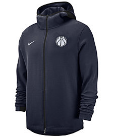 Nike Men's Washington Wizards Dry Showtime Full-Zip Hoodie