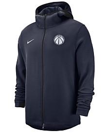 Nike Men's Washington Wizards Dry Showtime Full-Zip Hoodie