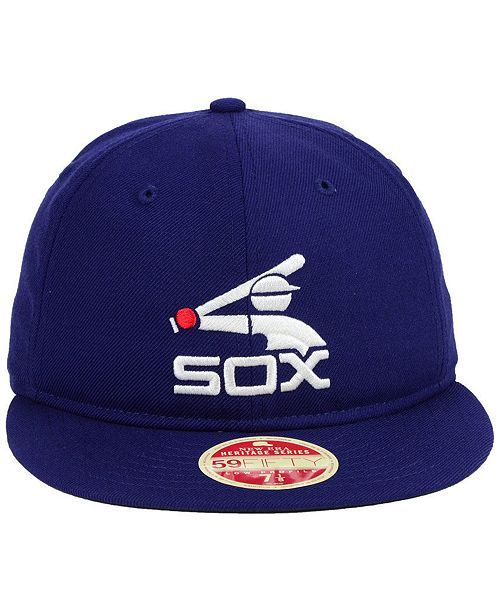online retailer 3bc35 c8ed8 ... discount new era chicago white sox heritage retro classic 59fifty  fitted cap sports fan shop by