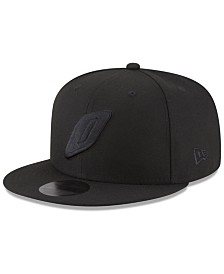 New Era Oklahoma City Thunder Alpha Triple Black 59FIFTY FITTED Cap