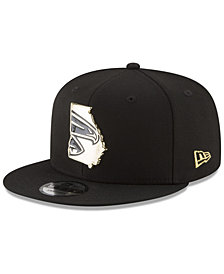 New Era Atlanta Falcons Gold Stated 9FIFTY Snapback Cap