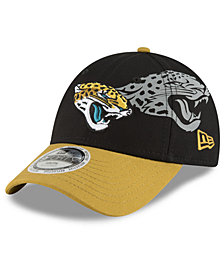New Era Boys' Jacksonville Jaguars Side Flect 9FORTY Cap